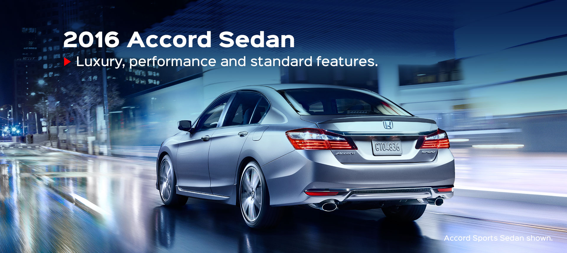 Accord Sedan - CANNED BANNER