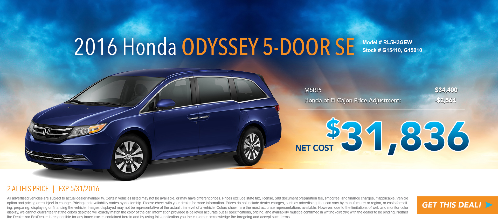 Odyssey Special