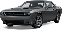 Dodge Challenger near Silverado title=