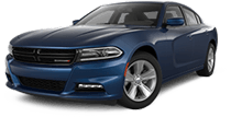 Dodge Charger in Blue Jay