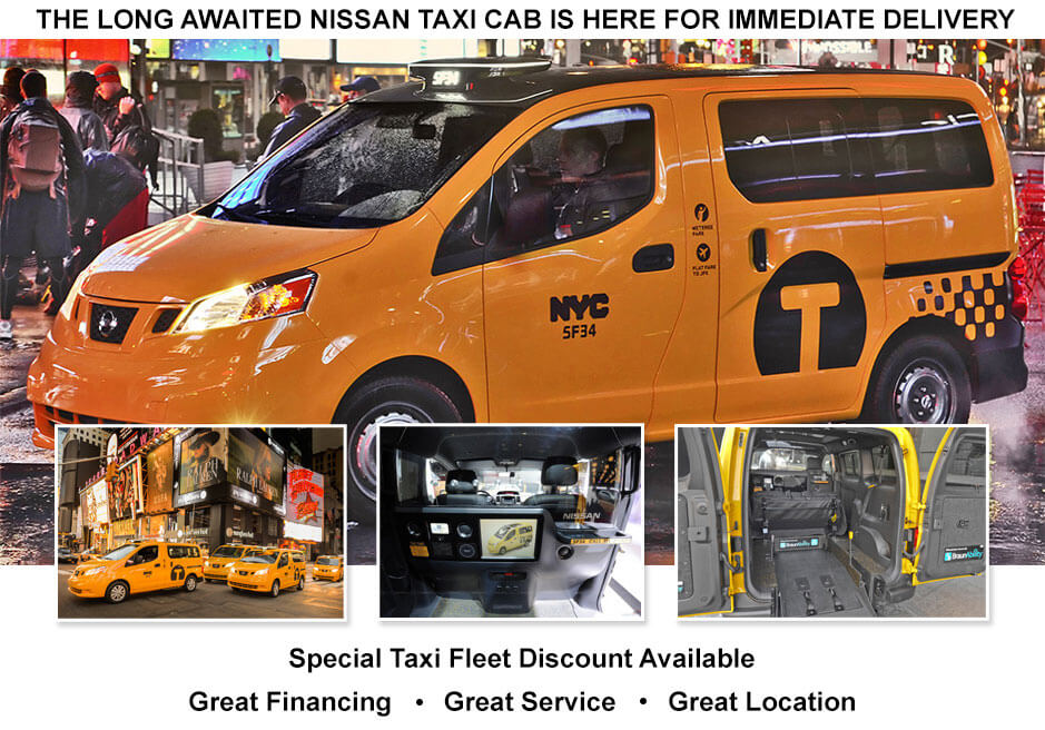 Nissan Of Queens Is Proud To Present That We Have Been Approved By Nissan  And The Taxi And Limo Commission Of New York To Supply ...