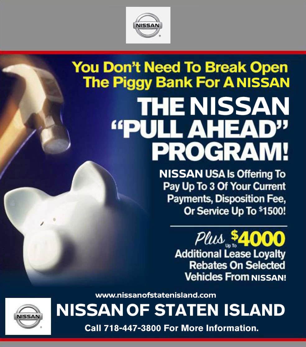 Nissan Loyalty Program: Save Big With The Pull Ahead Program At Your Local Nissan