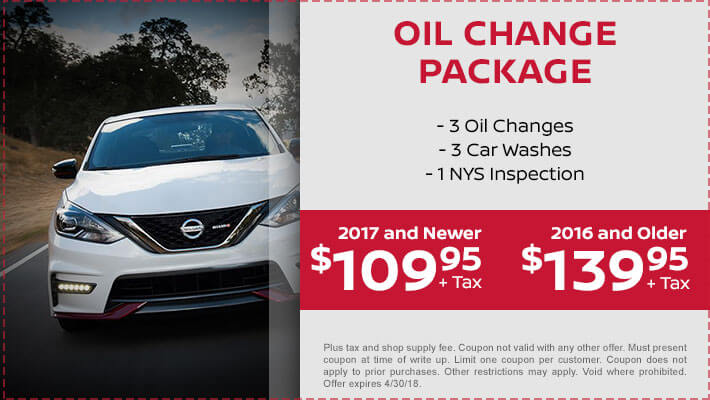 3 - Oil Change Package