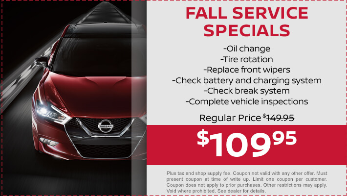 11 - Fall Service Special