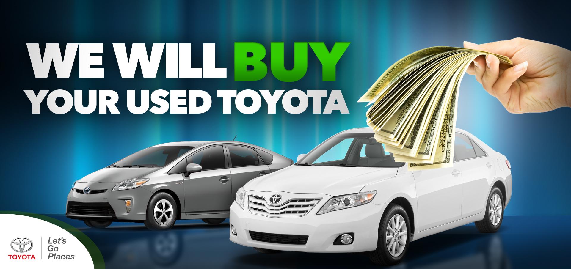 Buy USed Toyota