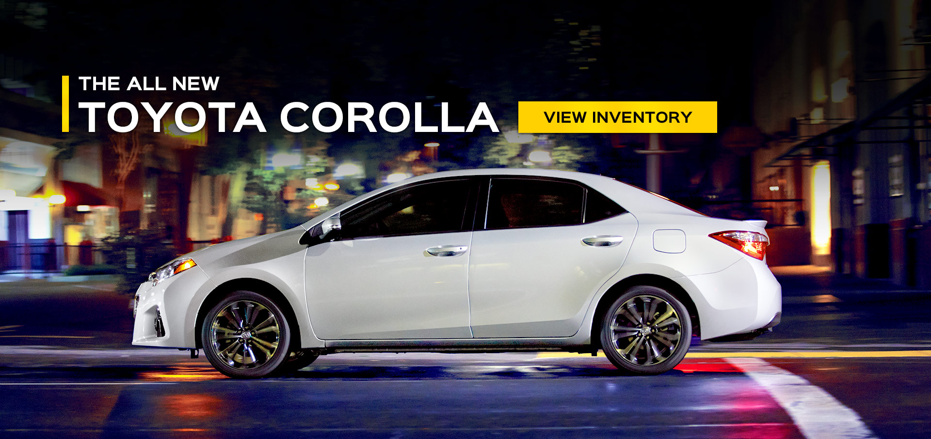 2015 Corolla canned banner