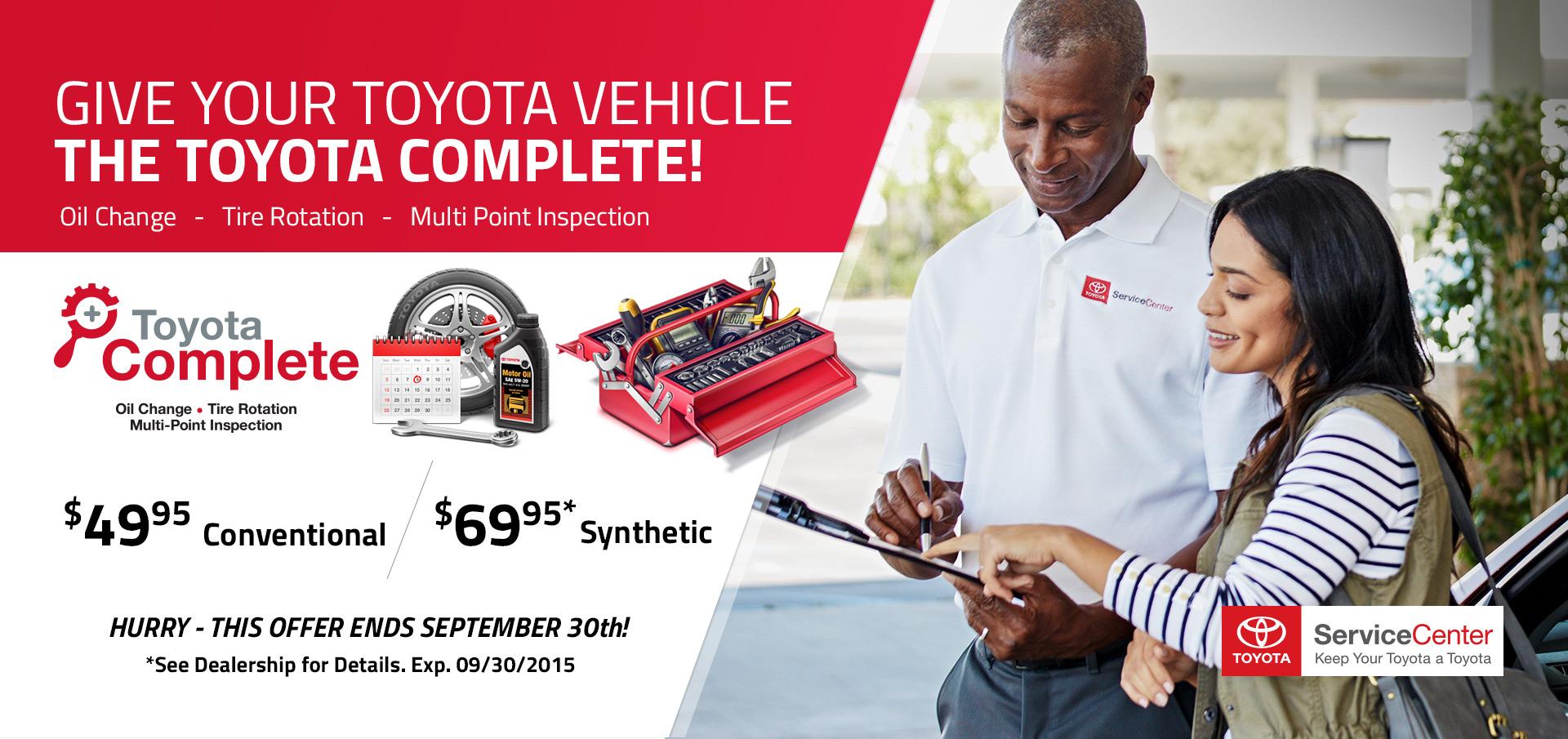Toyota Complete