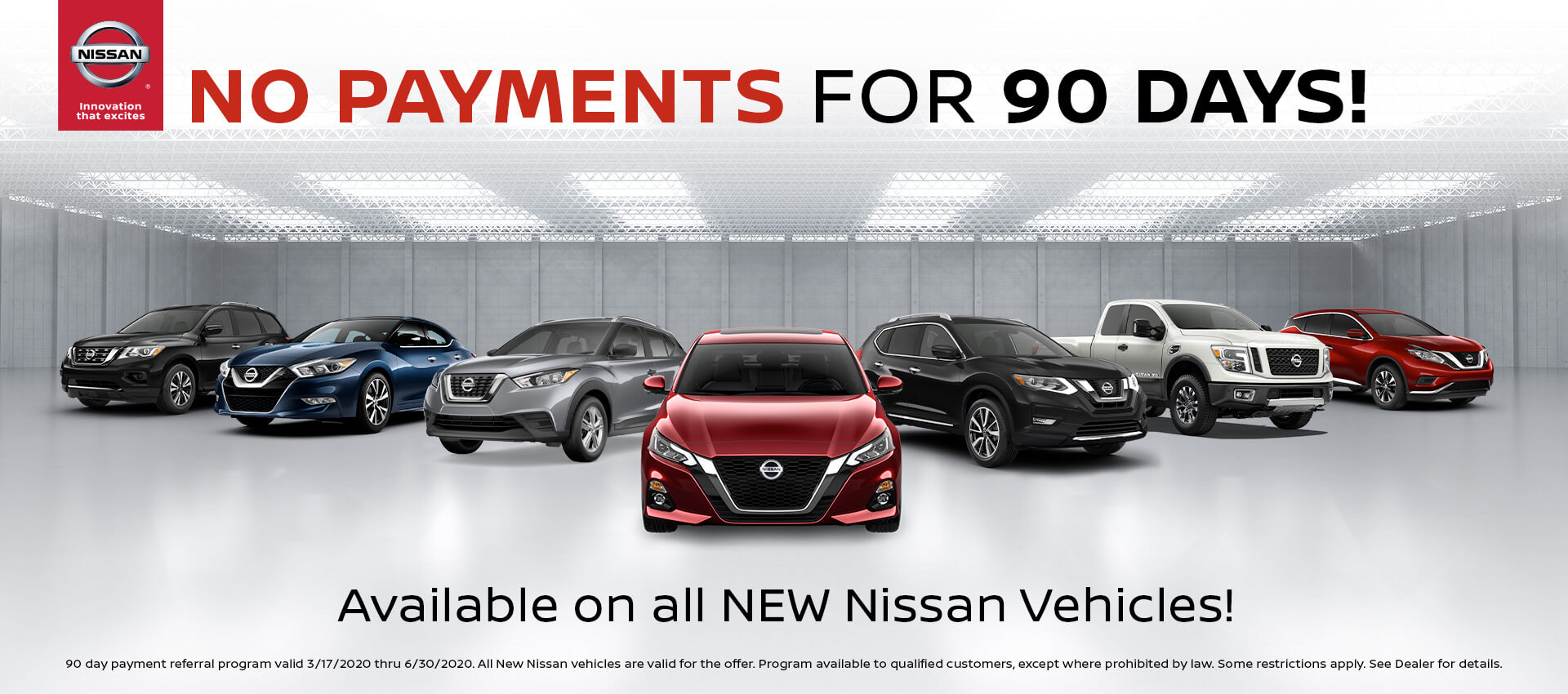 NO Payment for 90 days