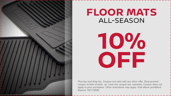 Floor Mats: All-Season
