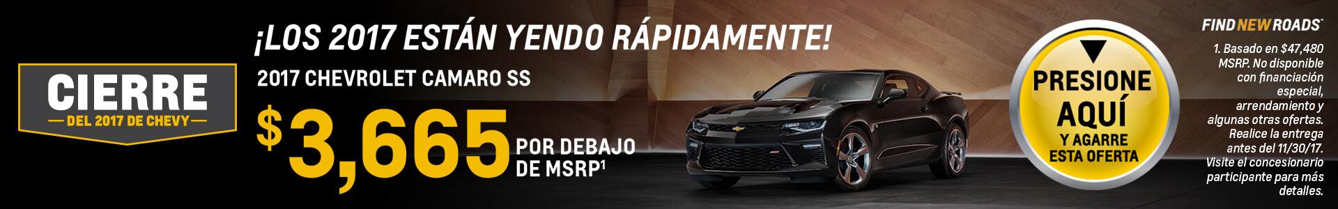Camaro SRP