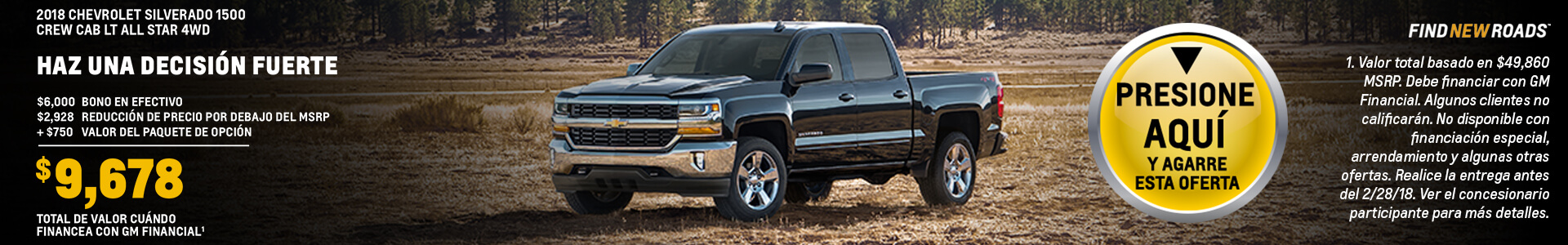 SEO Friendly Silverado
