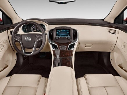 Interior of the 2015 Buick Lacrosse