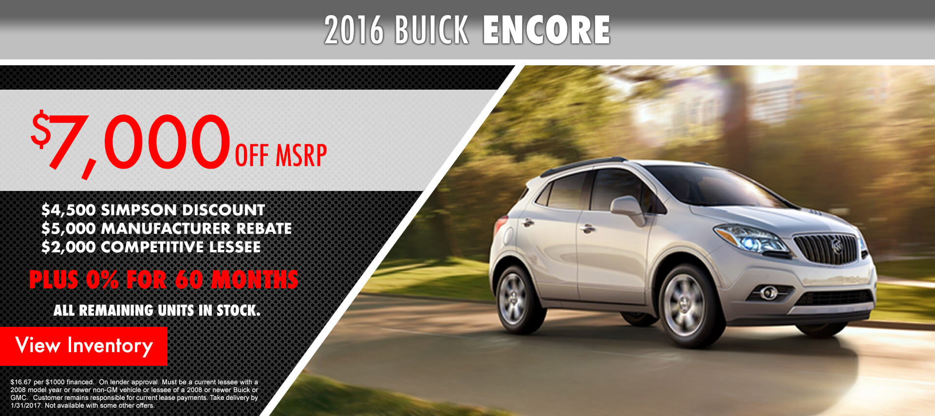 2016 Encore HP