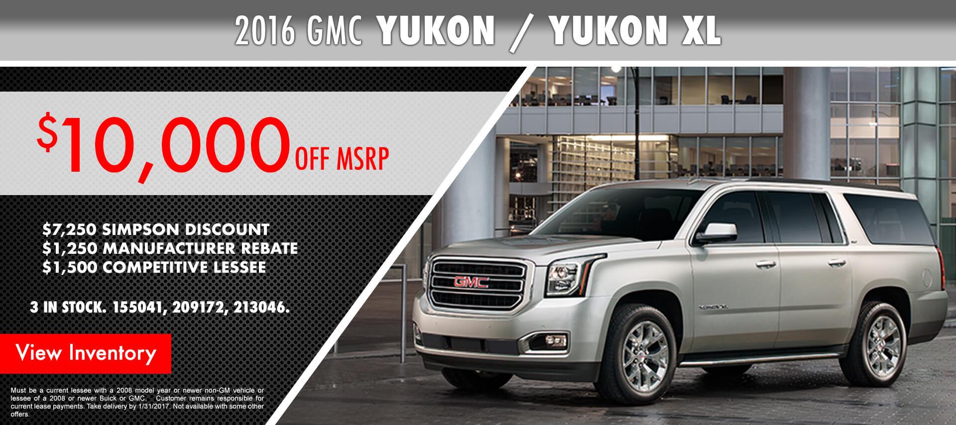 Yukon/ Yukon XL