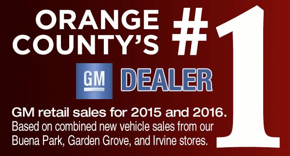 Buena Park Garden Grove Irvine Chevrolet Buick GMC Dealer