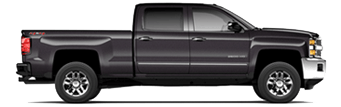 Chevrolet Silverado 2500 HD serving La Palma