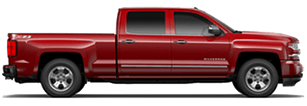 Chevrolet Silverado 1500 near Wrightwood