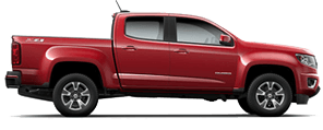 Chevrolet Colorado near Dodgertown