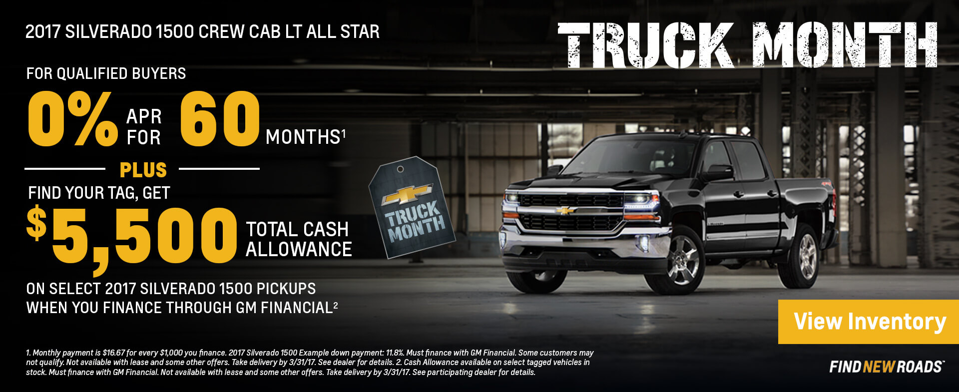 Truck month HP