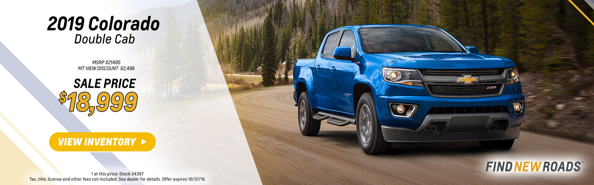 2018 Chevy Colorado
