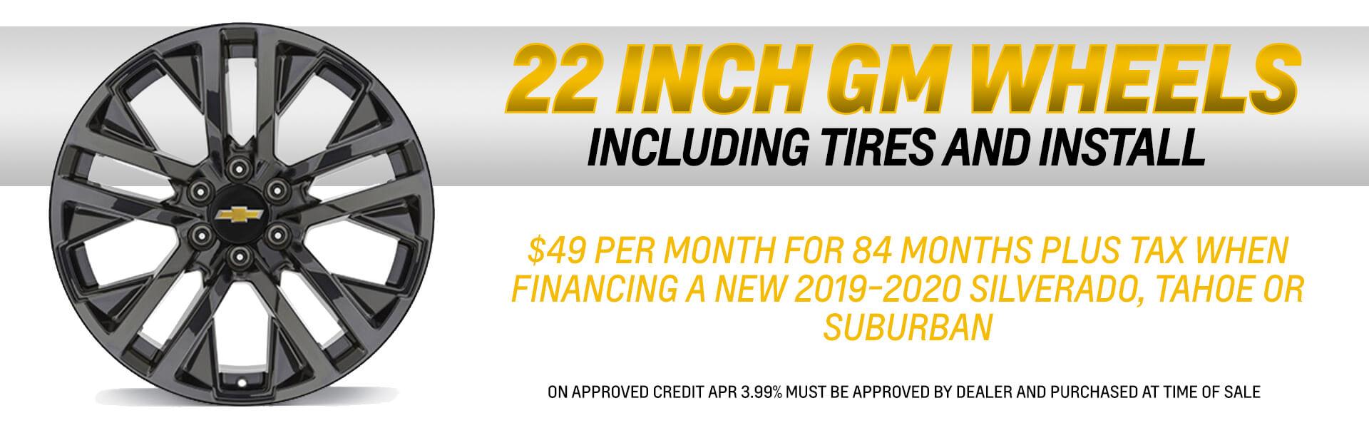 22 Inch GM Wheels