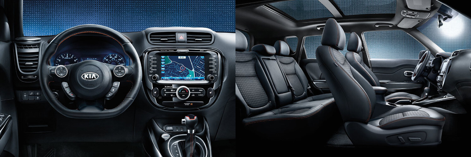 2018 Kia Soul Interior And Technology