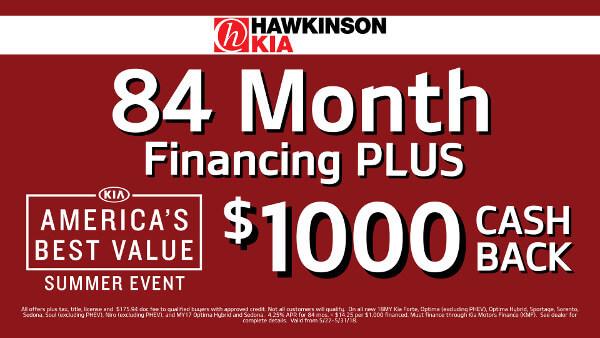 84 Months Financing PLUS