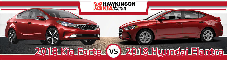 2018 kia forte vs hyundai elantra top compact model. Black Bedroom Furniture Sets. Home Design Ideas