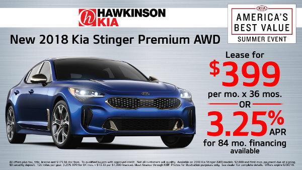2018 Kia Stinger Premium AWD