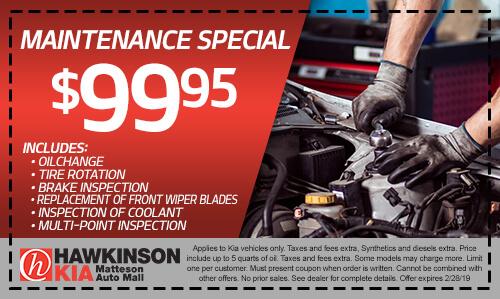 Maintenance Special
