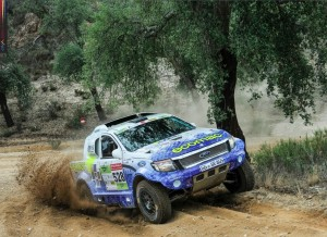 The DMAS South Racing Ford Ranger