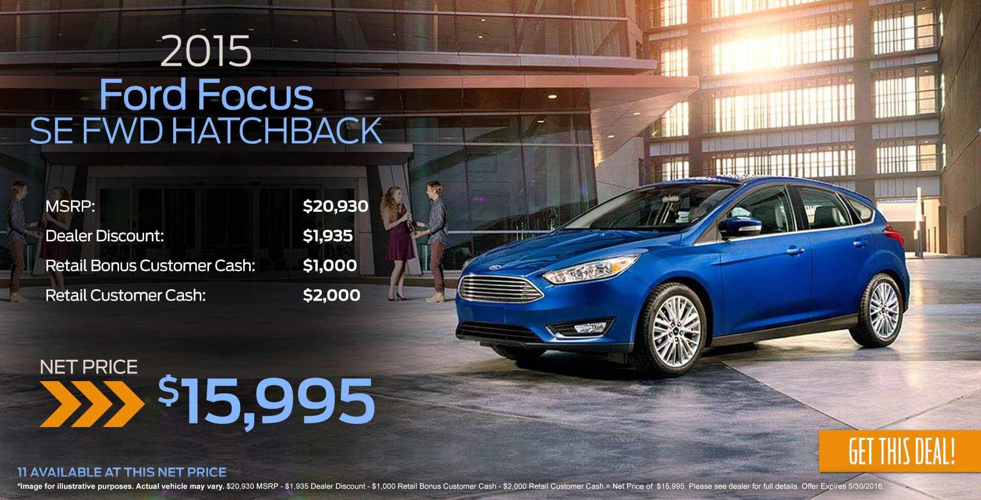 2015 Focus Sale