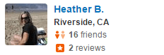 Bryn Mawr, CA Yelp Review