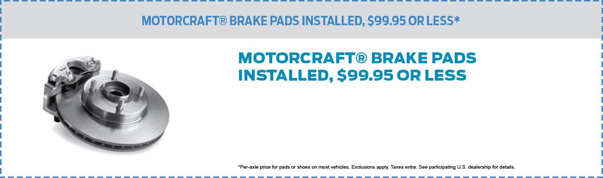 Motorcraft Pads
