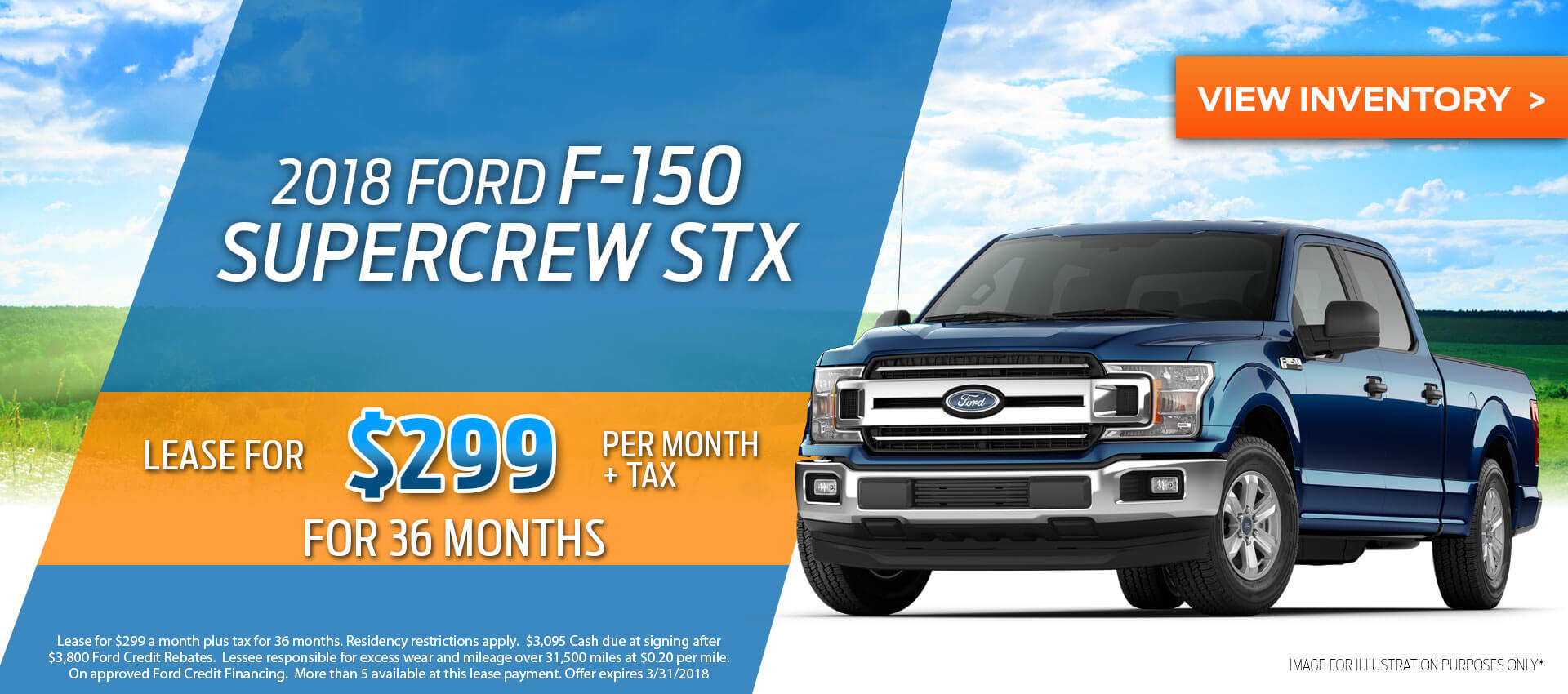 2018 F-150 Lease
