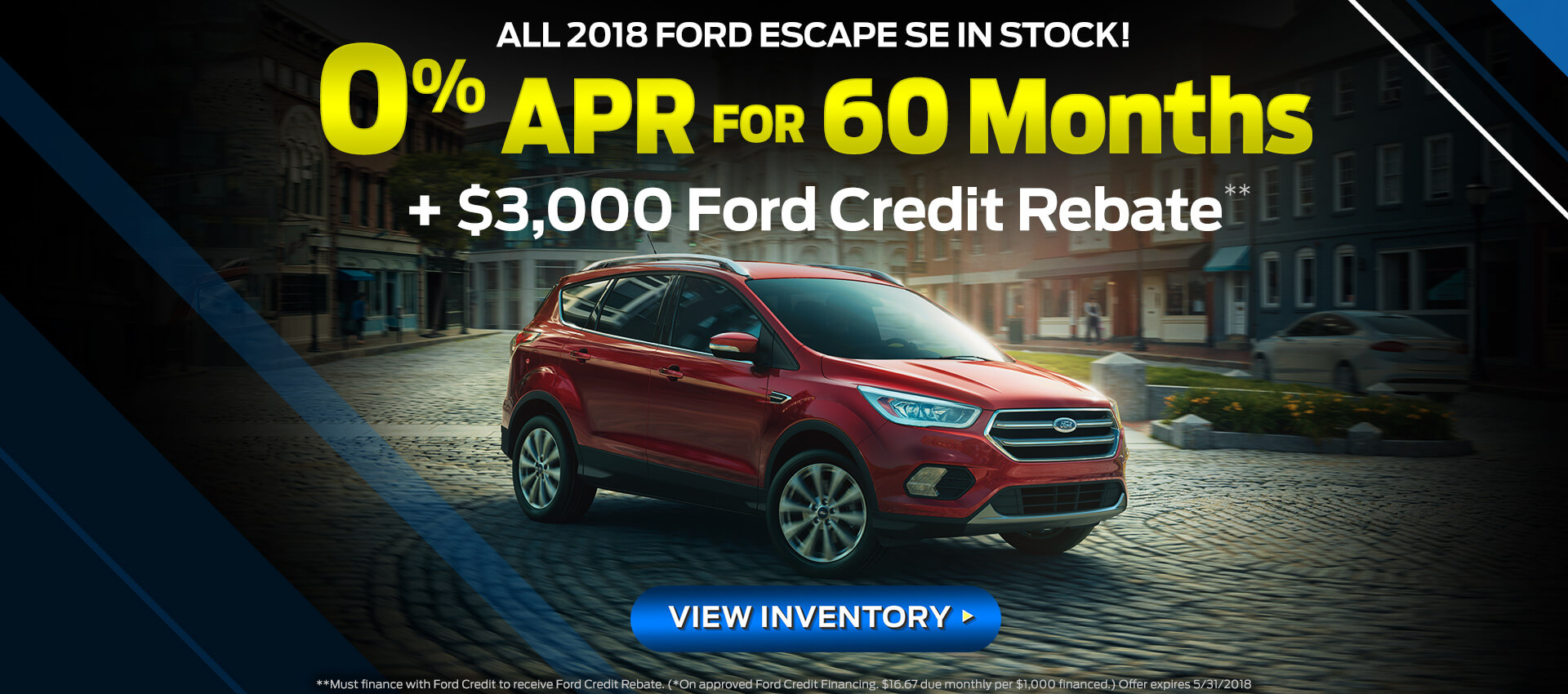 2018 Escape 0% APR