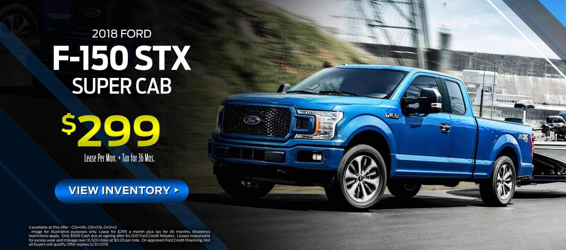 F-150 Super Cab Lease $299