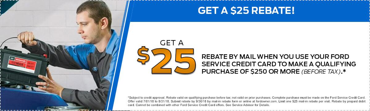 $25 Rebate