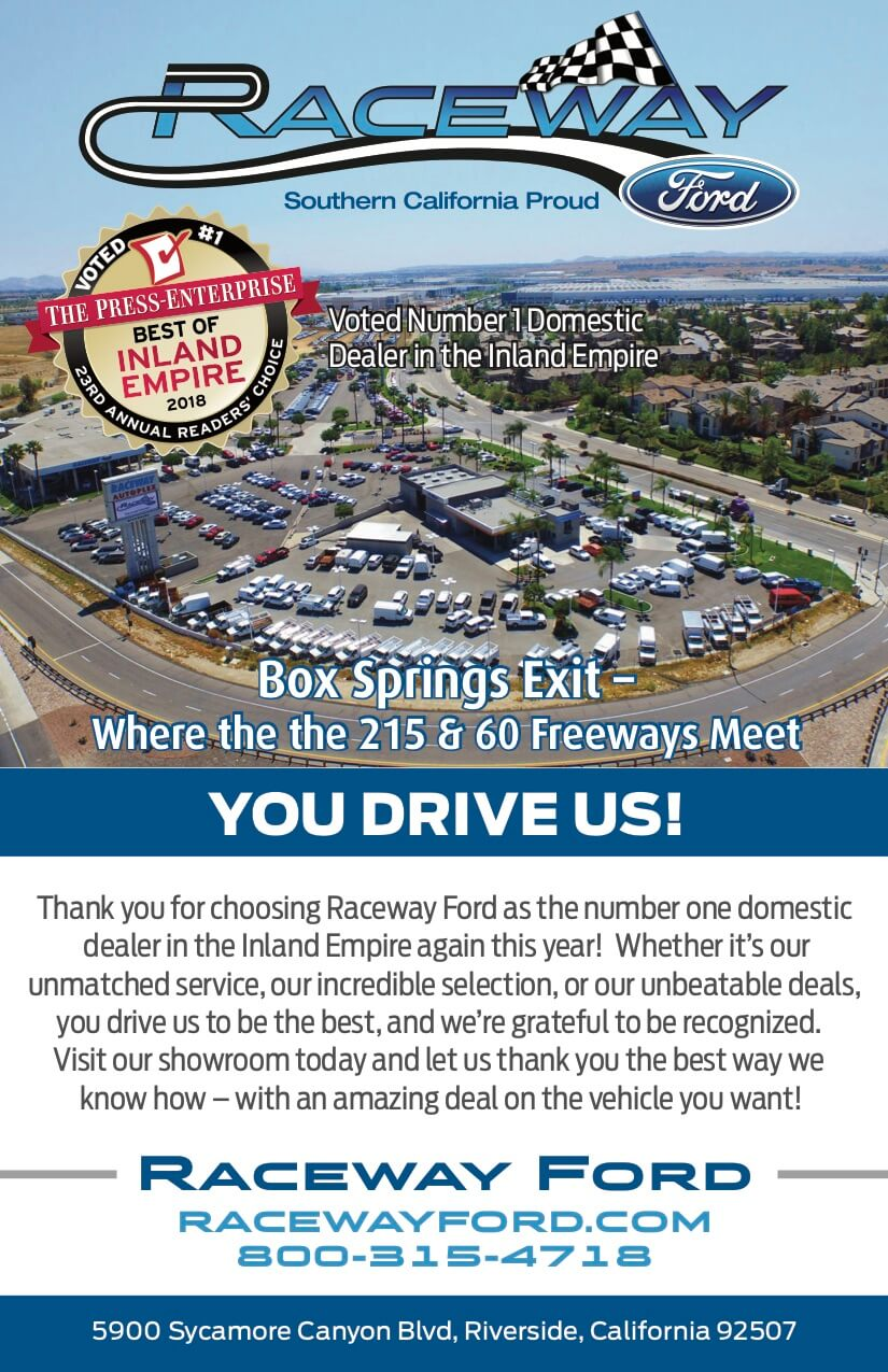 Raceway Ford Best of Inland Empire