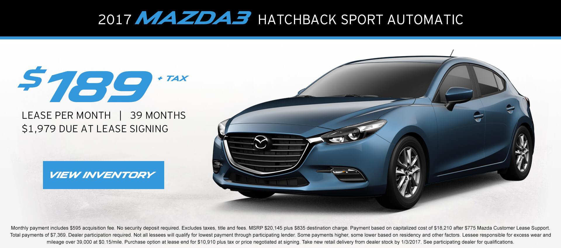 Mazda 3 Liftback