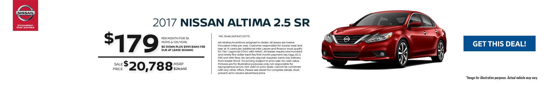 Altima SRP