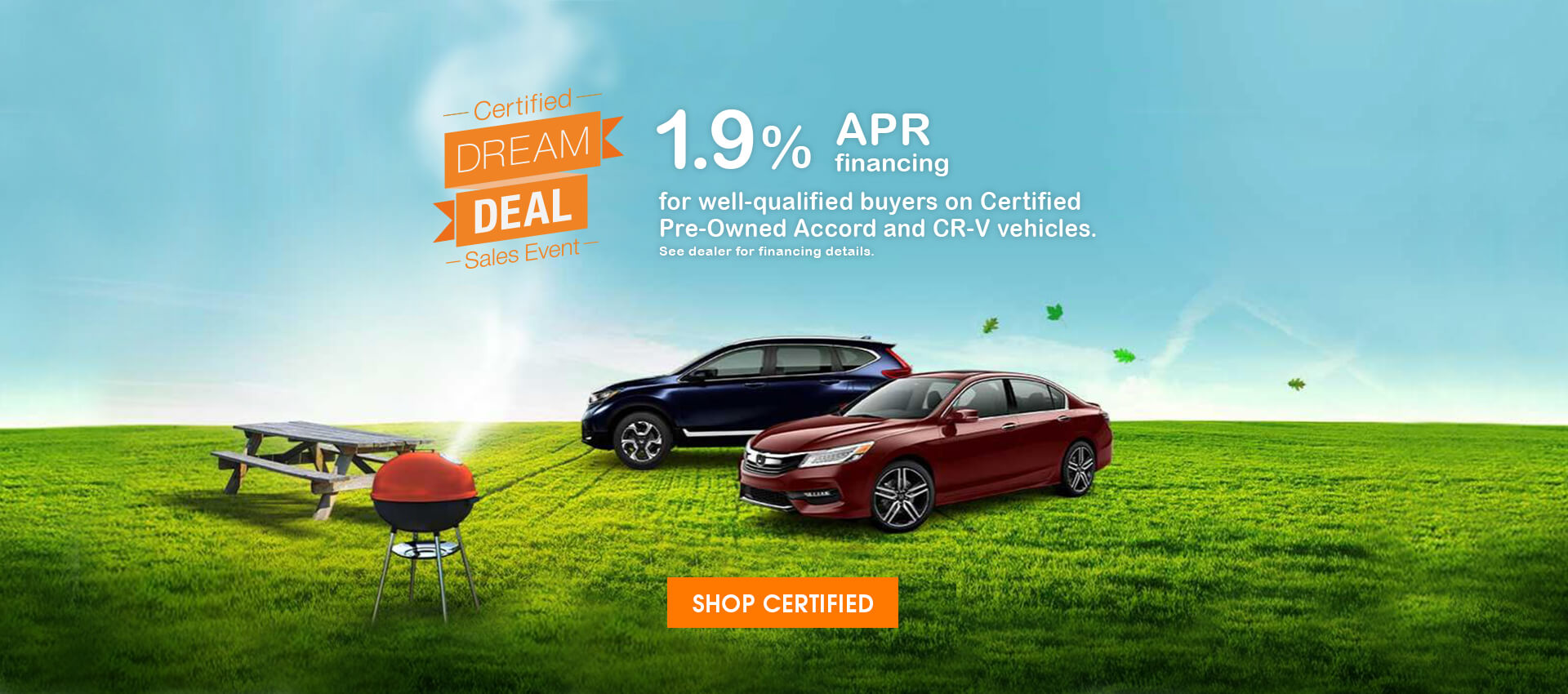 Specials On Honda Vehicles