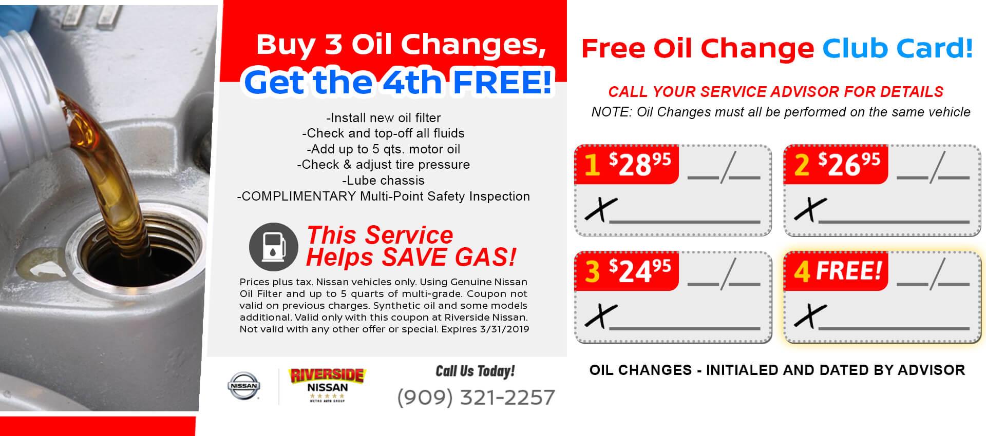 Oil Change Club
