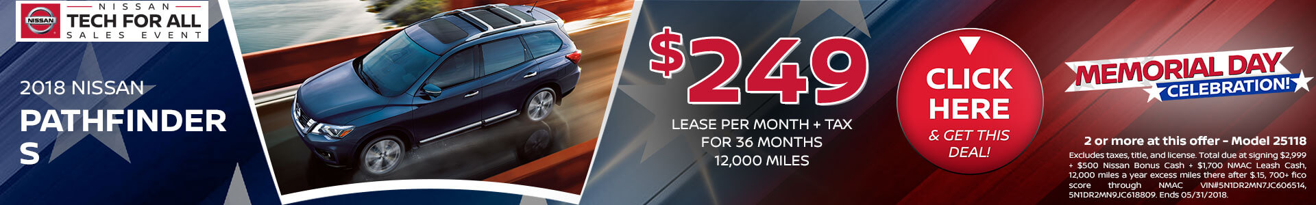 Pathfinder Lease $249