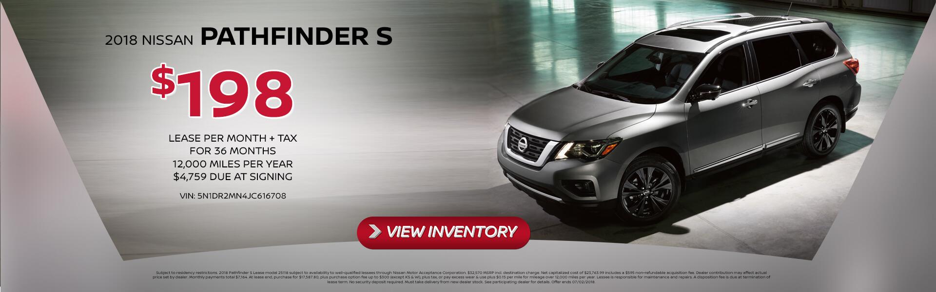 Pathfinder Lease $198