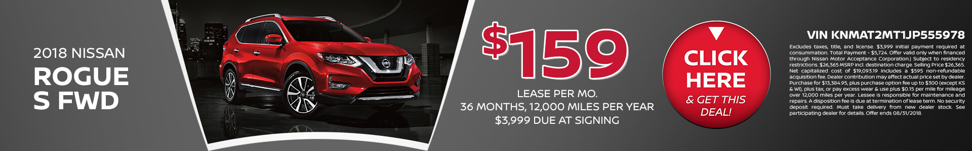 Rogue Lease $199