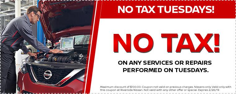 No Tax Tuesdays