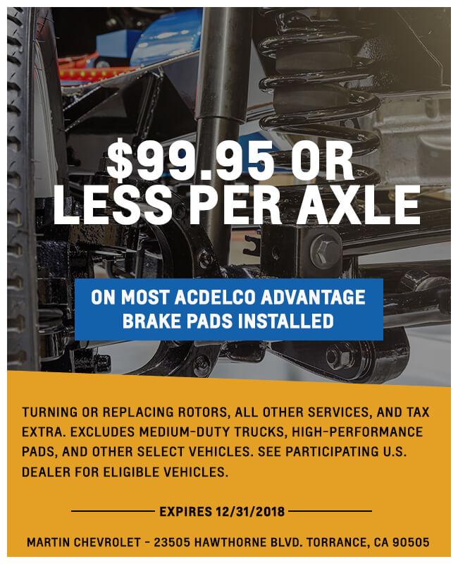 99.95 Less Per Axle