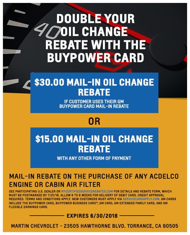 Double Your Oil Change