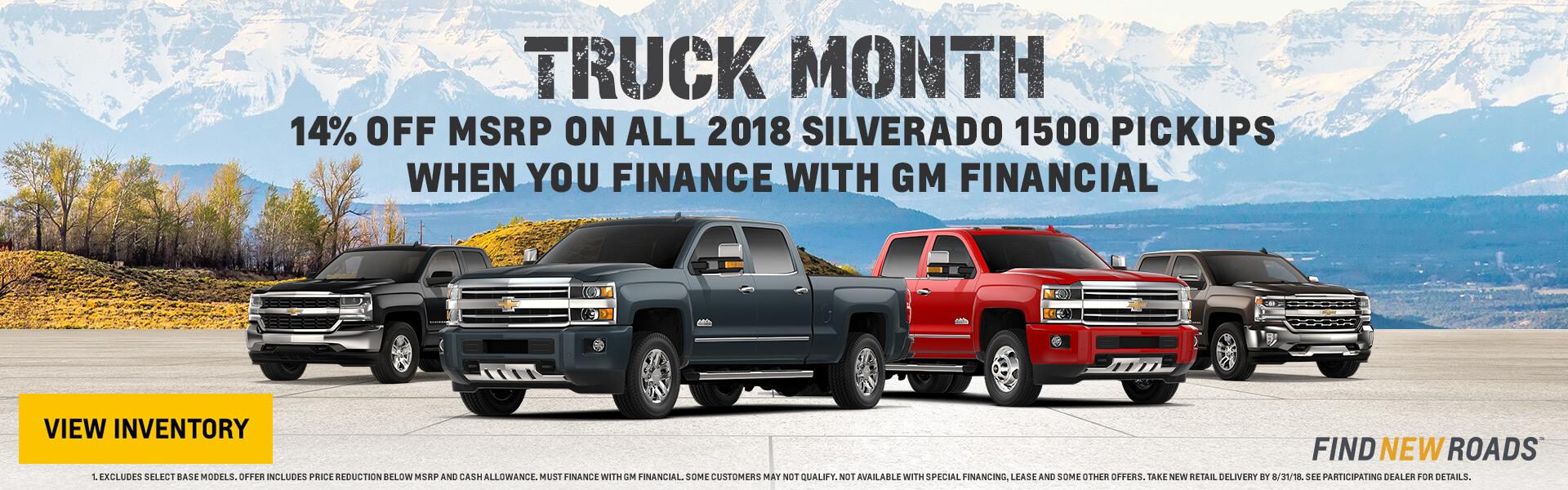 Truck Month Silverado 1500
